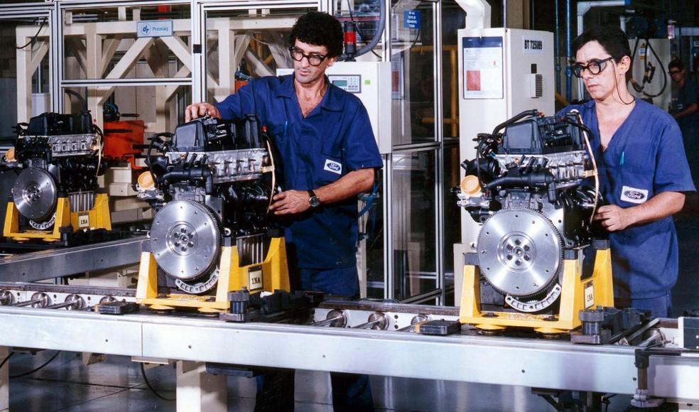 Fábrica da Ford Taubaté — Foto: Divulgação/Ford