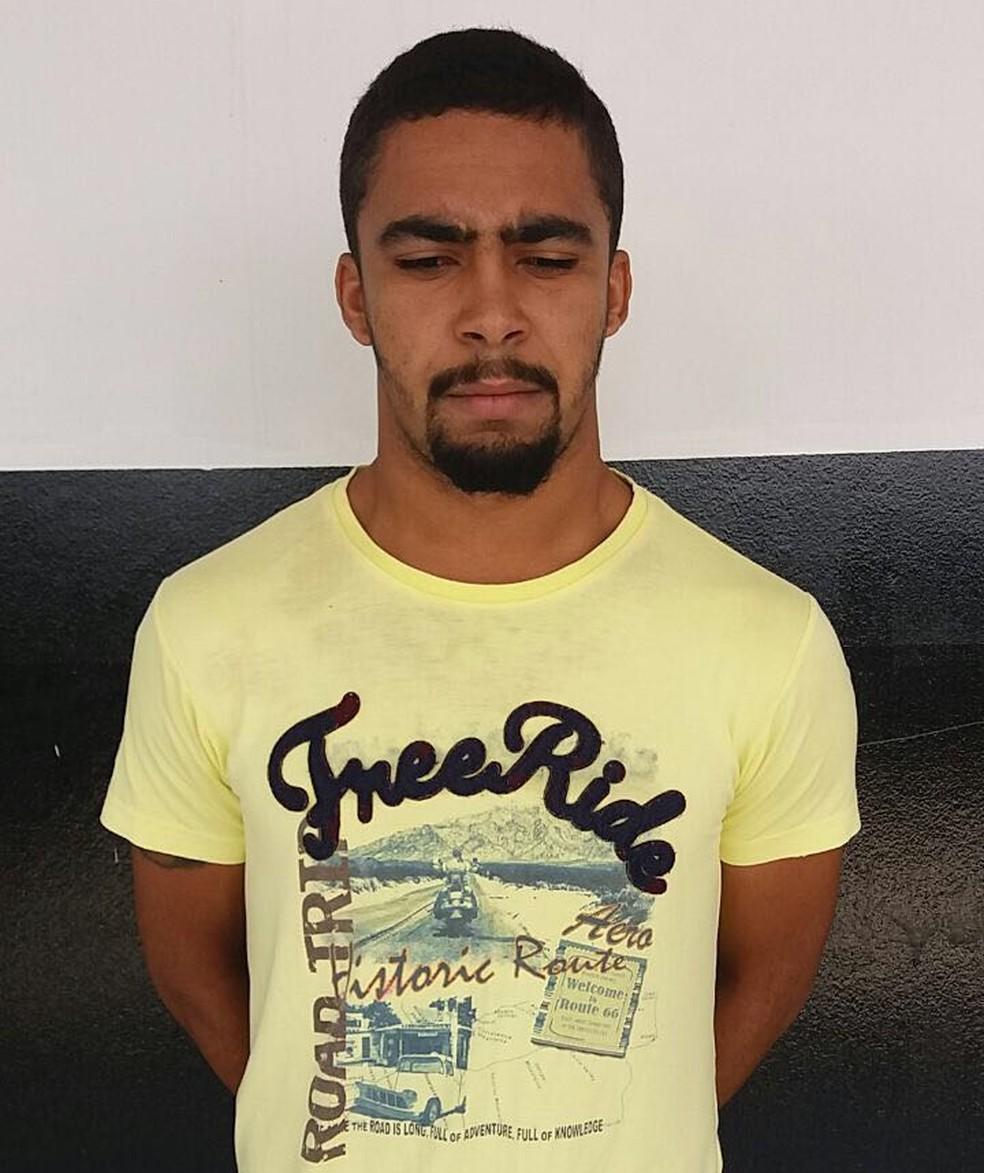 Iago Coimbra dos Santos foi preso por matar ex-companheiro de cela (Foto: Divulgação/Polícia Civil)