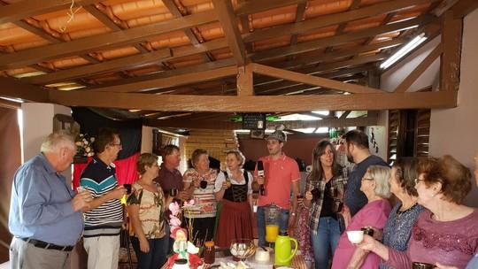 Pedro Leonardo visita bairro alemão em Limeira (SP)