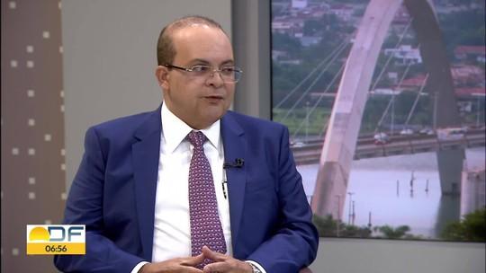 Ibaneis Rocha, governador eleito do DF, fala em criar zona de livre comércio e diz ser contra reeleição