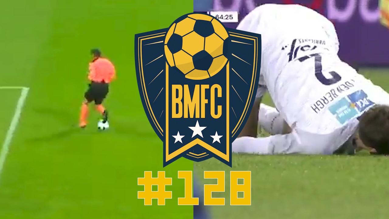 BMFC #128: Juiz-zagueiro no México e golaço com comemoração louca na Bélgica