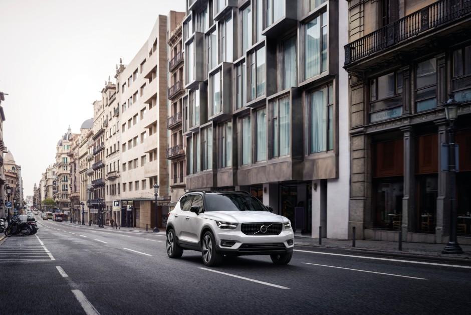 Volvo XC40 - Híbrido - Frente (Foto: Divulgação/Volvo)