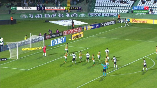 Coritiba x Sampaio Corrêa - Campeonato Brasileiro Série B 2018 - globoesporte.com