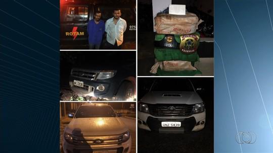 Quatro traficantes com 200 kg de cocaína morrem ao furar bloqueio e trocar tiros com a PM, em Heitoraí