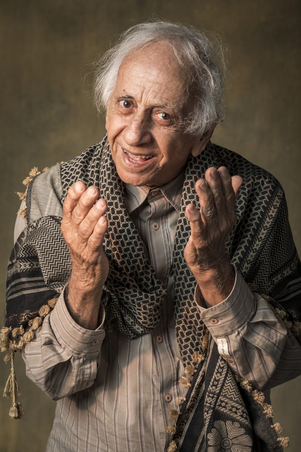 Flavio Migliaccio interpretou Mamede na novela 'Órfãos da Terra' em 2019 — Foto: Globo/Paulo Belote
