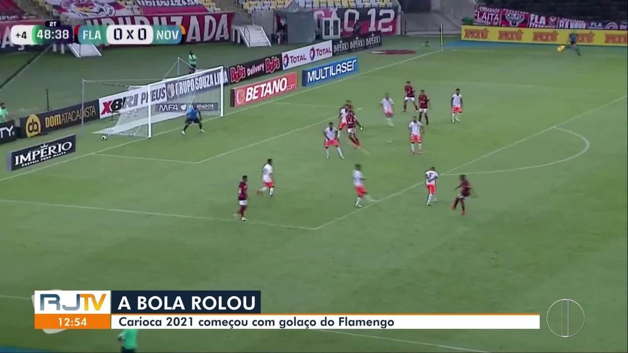 Carioca 2021 começou com golaço do Flamengo