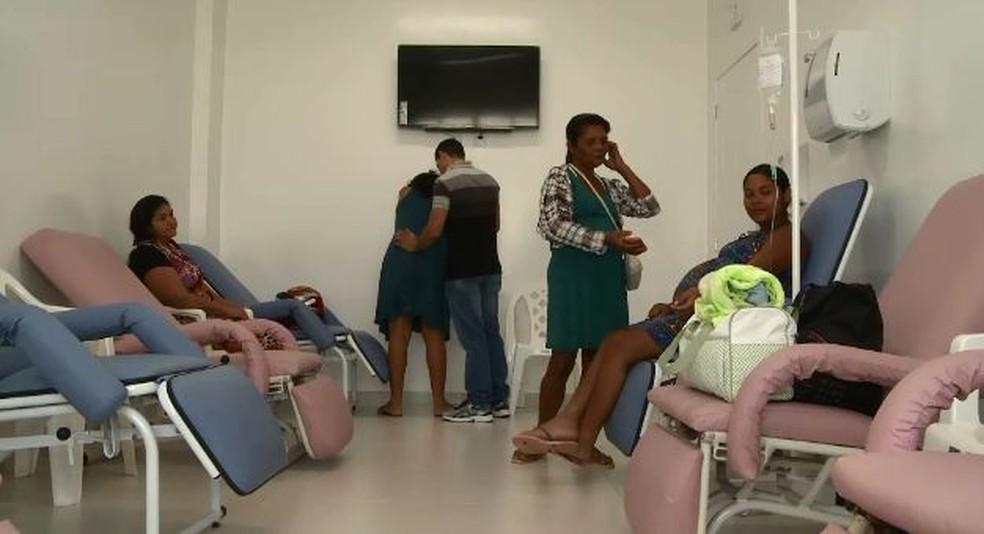 Local foi reformulado para atender pacientes no Santa Juliana (Foto: Reprodução/Rede Amazônica Acre )