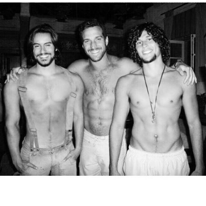Ricardo Tozzi, Carlos Bonow, Dudu Azevedo (Foto: Reprodução Instagram)