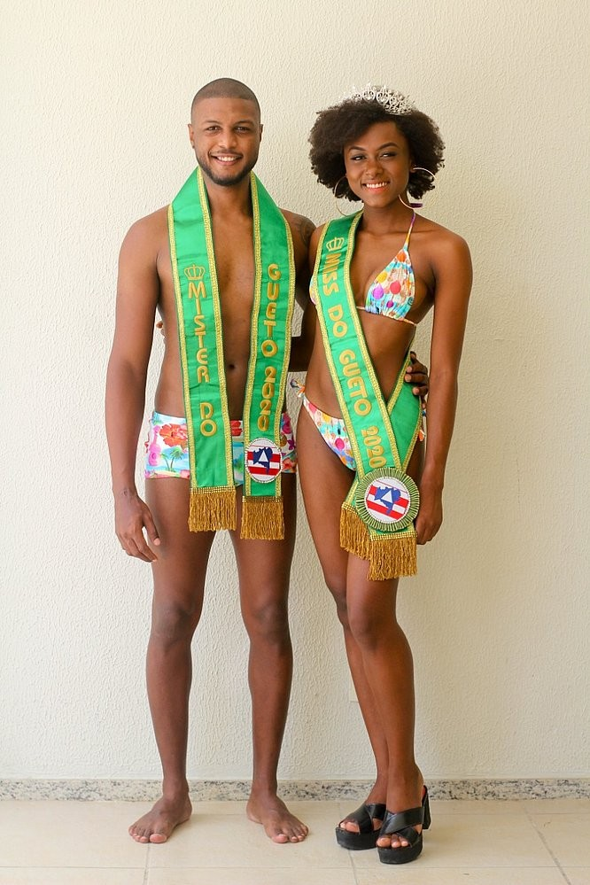 Concurso virtual elege Miss e Mister Guetto 2020, em Salvador; conheça vencedores