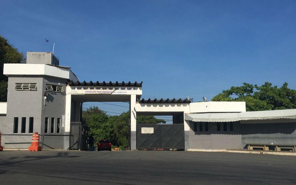 Complexo Penitenciário de Salvador localizado no bairro da Mata Escura — Foto: Maiana Belo/G1 BA