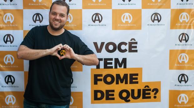 Lucas Judice, cofundador CEO da Almoço Grátis (Foto: Divulgação)