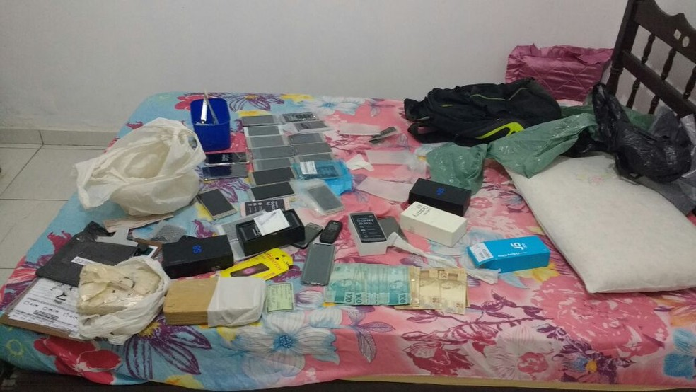 Material apreendido durante operação em Regeneração (Foto: Divulgação/Polícia Civil)
