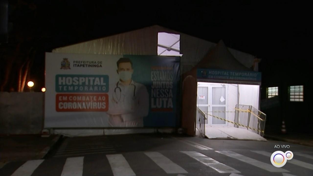 Hospital de Campanha para tratar pacientes com Covid é desativado em Itapetininga