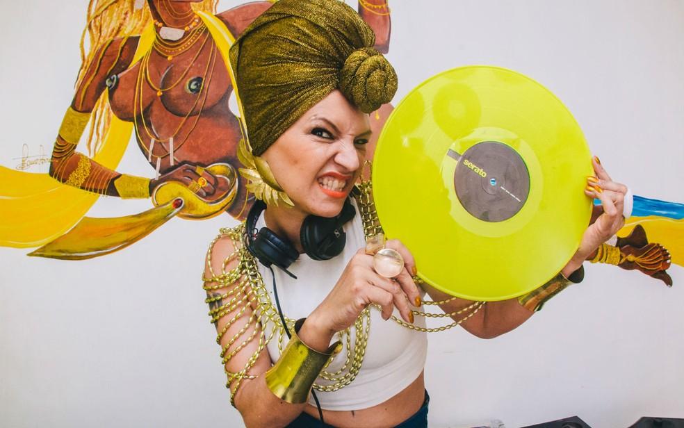 DJ Donna, de Brasília, em imagem de arquivo — Foto: Pixelizando/Divulgação