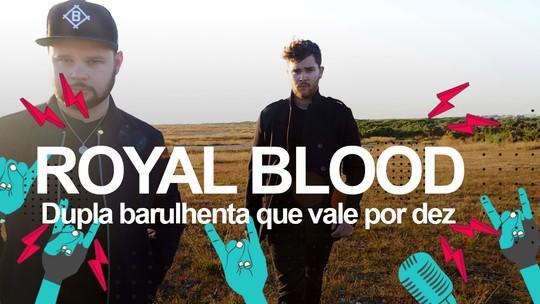 Royal Blood quer tocar o mais alto possível no Lolla e diz que backstage de festivais é 'lugar mais chato do mundo'