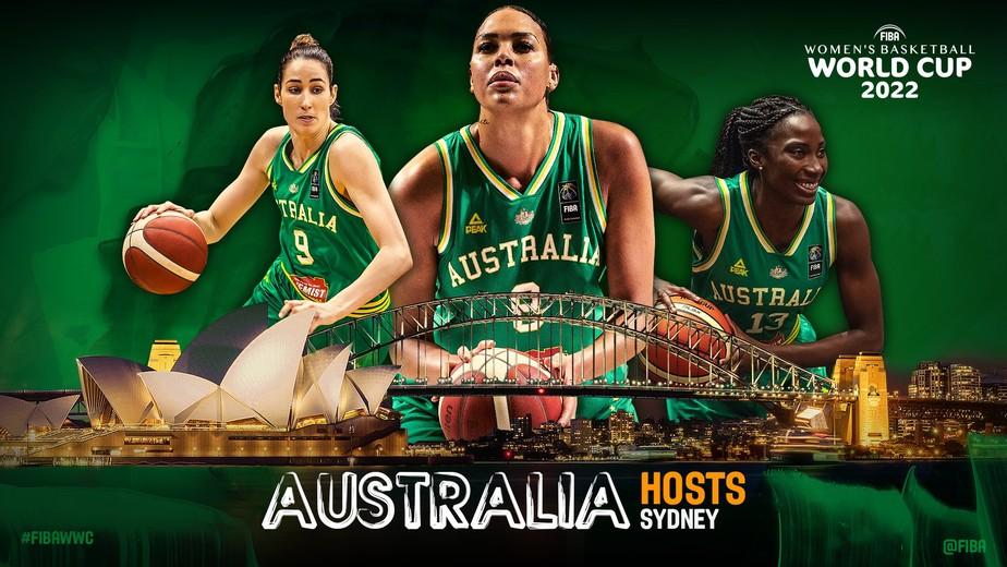 Austrália sediará Copa do Mundo de Basquete Feminino em 2022