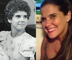 Rosana Garcia, que recentemente preparou atores mirins de 'Sol nascente', foi uma das Narizinho do 'Sítio do Picapau Amarelo'. Ela poderá ser vista novamente papel no Globo Play, que disponibilizou 17 episódios da série | TV Globo/Reprodução Facebook
