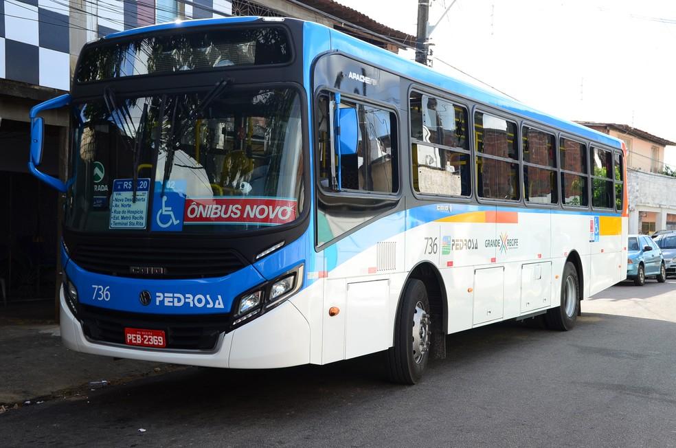 Ônibus com duas vagas para cadeirantes estão em circulação no Recife (Foto: Rafael Fernandes/Divulgação)