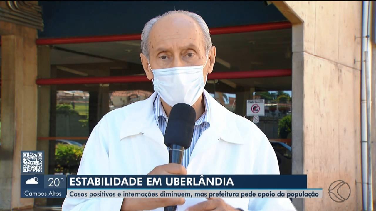 Secretário de Uberlândia fala sobre o estoque de medicamentos para intubação na cidade