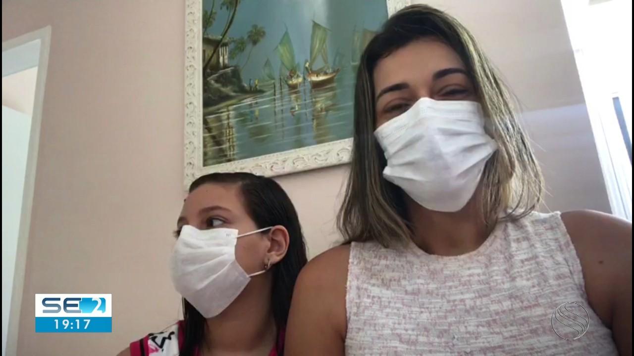 Internações de crianças com a Covid-19 aumentam em Sergipe