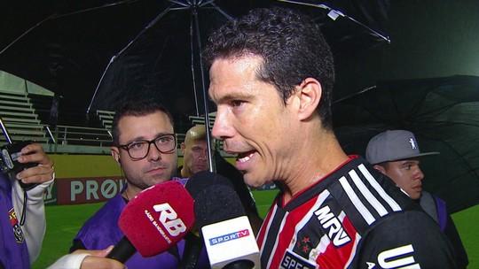 Hernanes prevê melhora física em mais dois jogos pelo São Paulo e diz que alcançará topo da forma