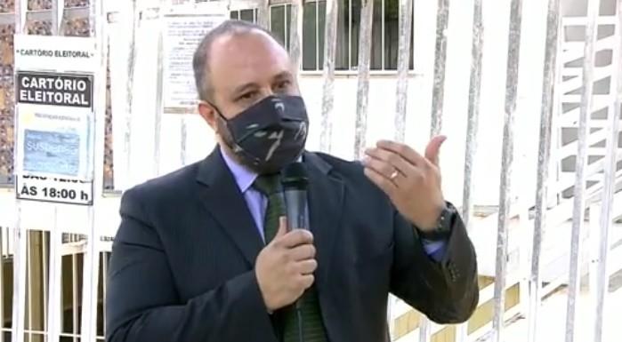 Detentos confeccionam 5 mil máscaras para serem utilizadas nas seções eleitorais de Varginha, MG