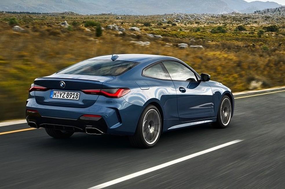 Versão duas portas do Série 3 também deve ser uma das novidades da BMW no Brasil em 2021 — Foto:  Divulgação