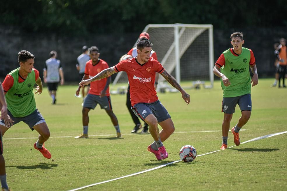 Vitória pode ter que disputar a fase preliminar da Copa do Nordeste 2022 — Foto: Pietro Carpi/ EC Vitória
