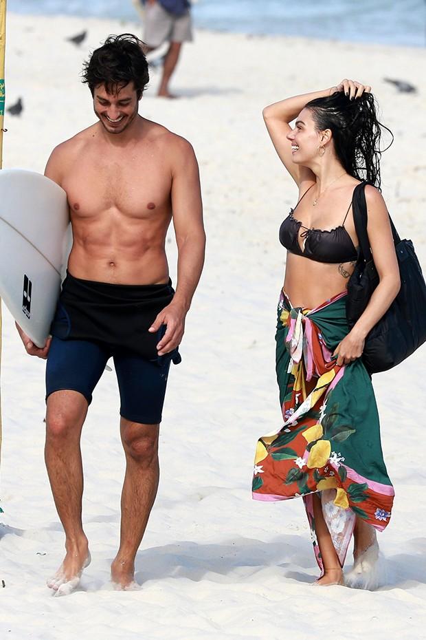 Isis Valverde e o marido André Resende (Foto: Dilson Silva/ Ag News)