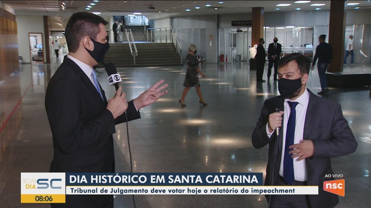 Coordenador de comissão da OAB, Rogério Duarte, fala sobre o processo de impeachment