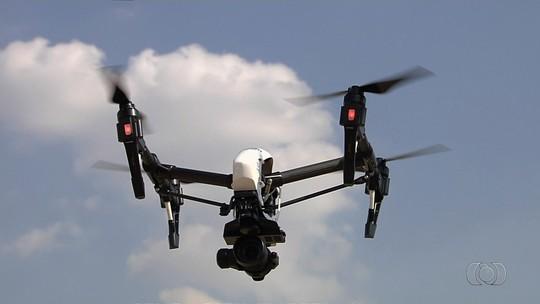 Concessionária vai usar drone para monitorar trecho da BR-153 em Goiás