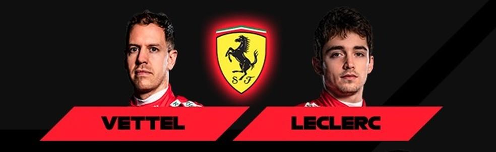 Ferrari 2020 — Foto: Reprodução/FOM