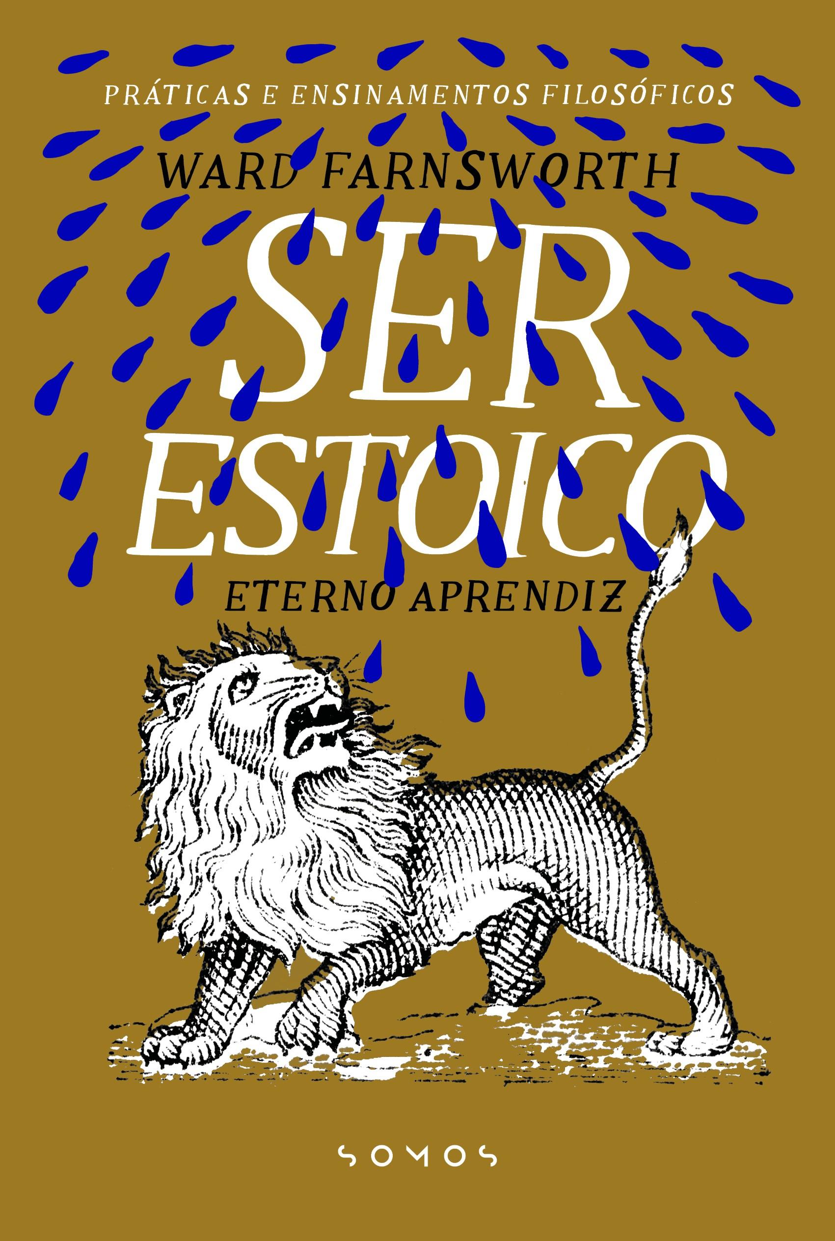 """""""Ser Estoico"""", de Ward Farnsworth, e """"O pequeno manual prático do estoicismo"""", de Jonas Salzgeber, é um dos sete lançamentos de estreia da editora (Foto: Reprodução)"""
