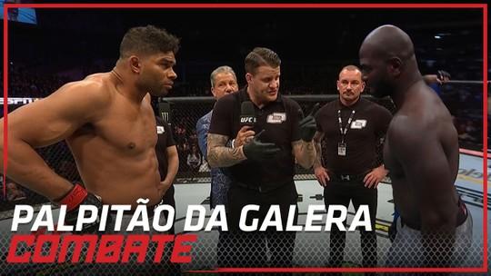 Palpitão da Galera: UFC Washington