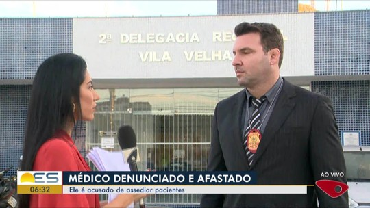 Homem denuncia abuso sexual de médico detido após beijar jovem à força no ES