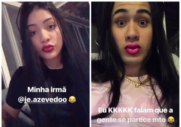 Jéssica e Kevinho (Foto: Instagram/Reprodução)