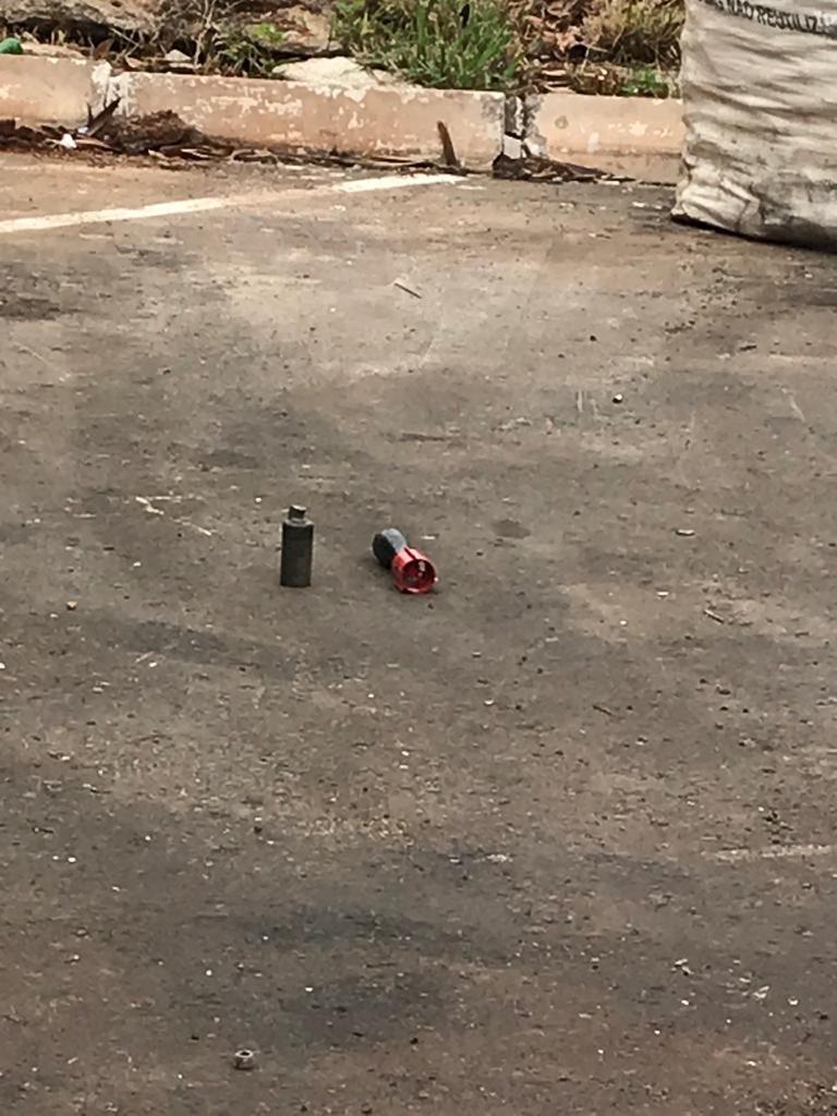 VÍDEO: Esquadrão de Bombas detona explosivos encontrados no DF