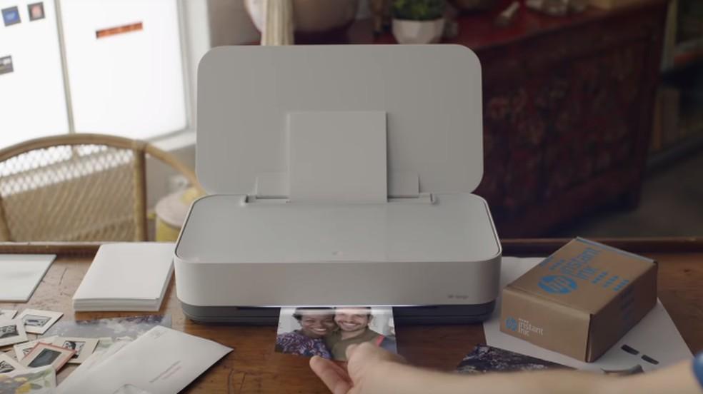Impressora HP Tango funciona apenas via Wi-Fi, sem cabo USB — Foto: Divulgação/HP