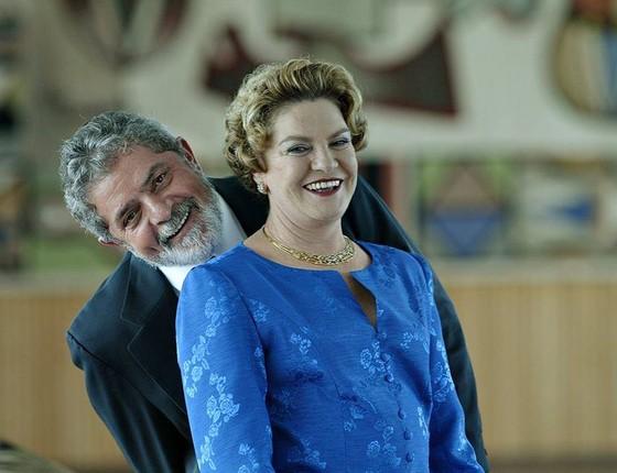 Lula e Marisa (Foto: Reprodução/Facebook)
