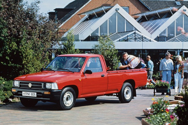 Voltada para o asfalto e entregas, Taro 4X2 podia vir com o chassi baixo sem prejuízo  (Foto: Divulgação)
