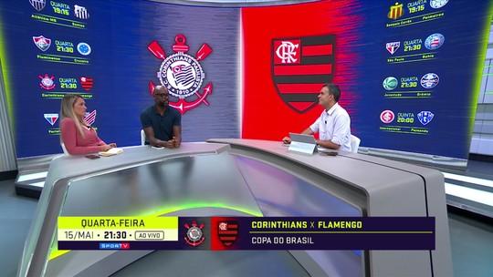 """Ana Thaís, sobre expectativa da torcida do Flamengo em Rafinha e Filipe Luís: """"Qualquer coisa que chegar abaixo não vai servir"""""""