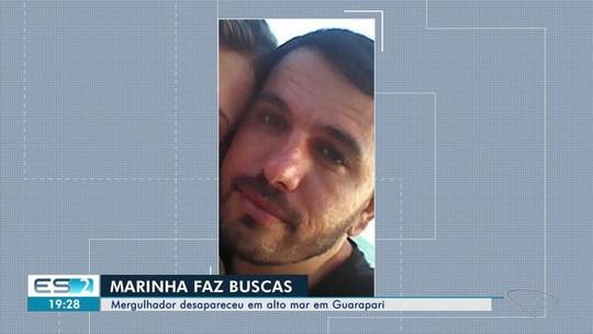 Mergulhador desaparece durante pesca submarina em Guarapari, no ES