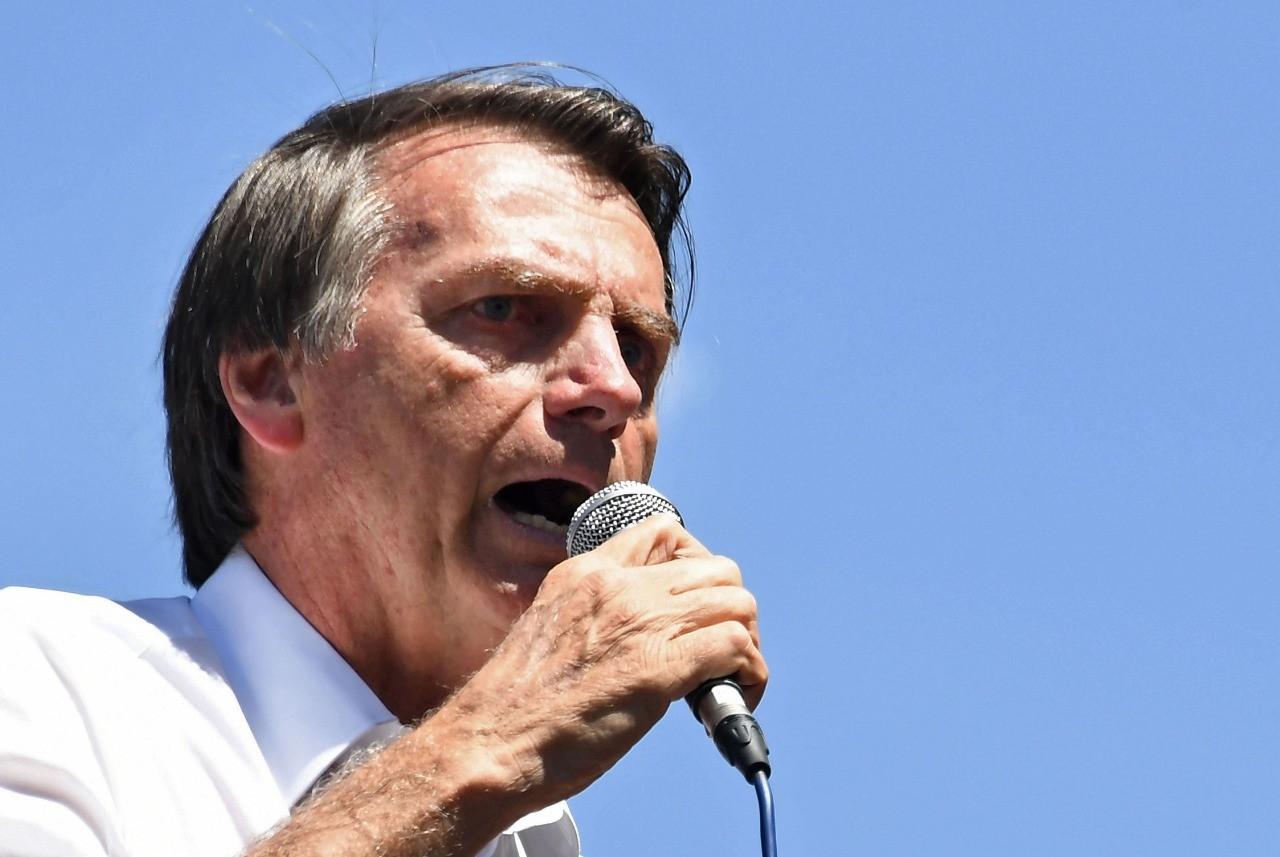 Jair Bolsonaro, candidato do PSL à presidência, tem rejeição de 49% entre as mulheres, segundo o instituto Datafolha