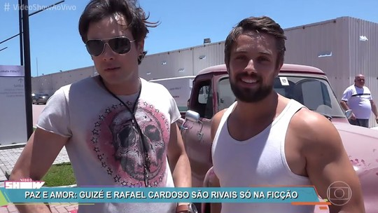 Sergio Guizé elogia Rafael Cardoso e fala sobre Gael: 'Folgado'