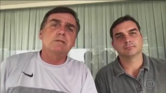 Em vídeo de 2017, Jair Bolsonaro diz ao lado do filho Flávio: 'Eu não quero foro privilegiado'