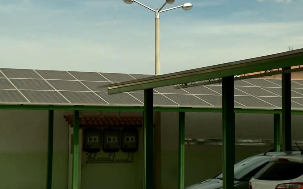 Instituto Federal do Sul de Minas recebe certificação por geração de energia solar (Foto: Reprodução EPTV)