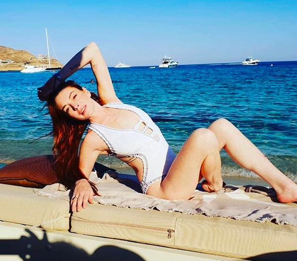A atriz Lindsay Lohan (Foto: Instagram)