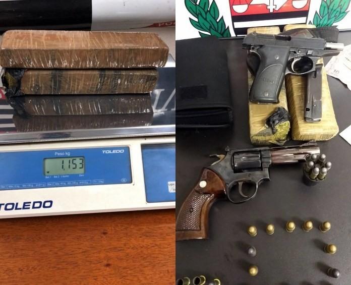 Grupo é preso com armas e drogas durante churrasco em Araras - Radio Evangelho Gospel
