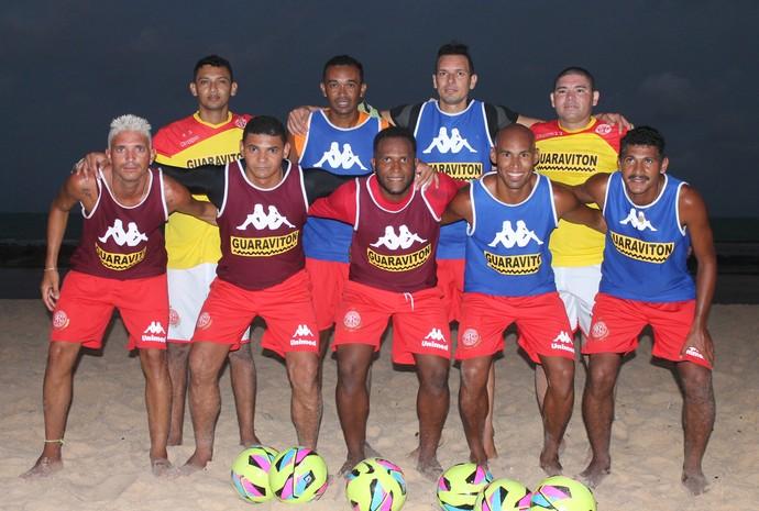 RN - América-RN beach soccer (Foto: Canindé Pereira/América FC/ Divulgação)