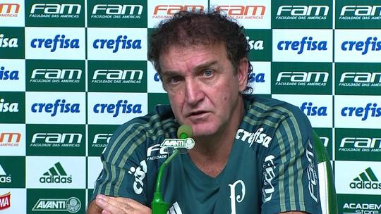 """Cuca, sobre Felipe Melo: """"Se puder ser útil ao Palmeiras, vai ser aproveitado"""""""